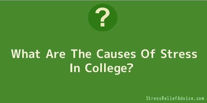 What Are The Causes Of Stress In College
